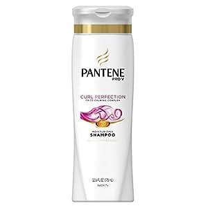 Pantene Pro-V Curly Hair Series Moisture Renewal Shampoo 12.6 Fl Oz (Pack of 6) (packaging may vary)