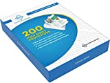 200 Page Protectors 8.5 x 11, Top Loading / 3
