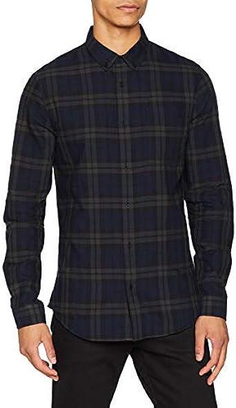 New Look Blackwatch Check Camisa para Hombre