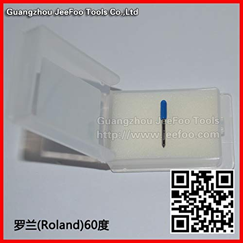 1 lot 60 degree Roland blade cutting plotter/vinyl cutter blade/import Roland cutting plotter knife by Congo Plaxika (Image #2)