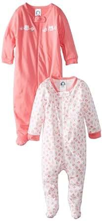 Gerber Baby-Girls Newborn 2 Pack Sleep N Play