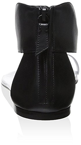 Sandal Flat Casadei Women's Black Sweet 8YZ8TEqz
