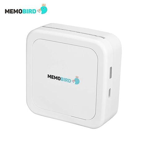 Amazon.com: MEMOBIRD GT1 impresora térmica de bolsillo BT ...