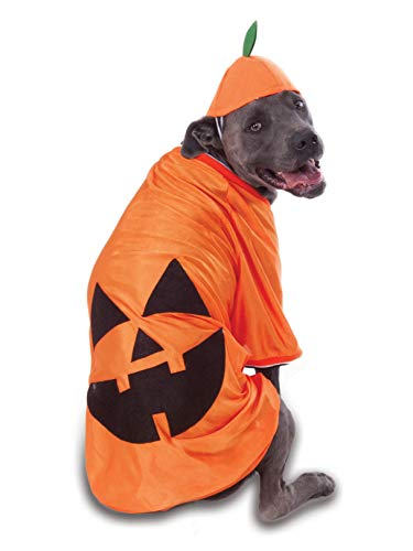 Rubie's Costume Co Big Dog's Pumpkin Pet Costume, XXX-Large