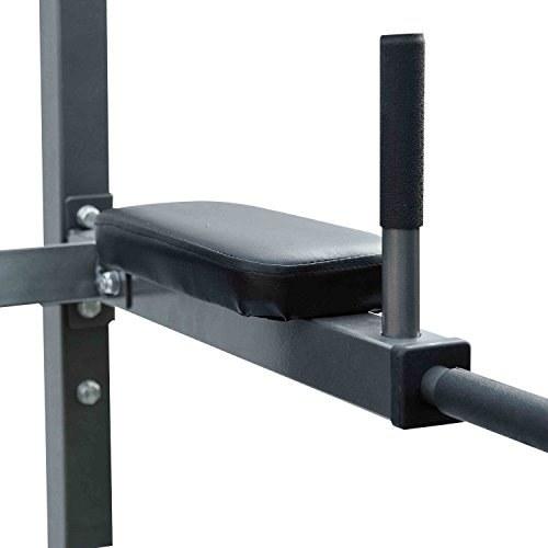 Dips Pull-up Stand Core Fitness Knee Raise Power Tower Rack Full Body Exercise by allgoodsdelight365