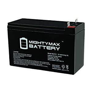Amazon Com Mighty Max Battery 12v 9ah Sla Battery