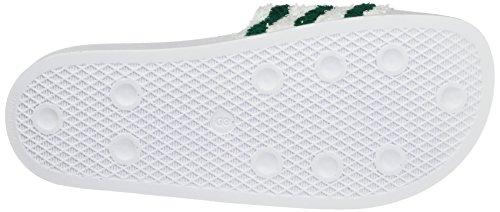 Blanc White footwear Adidas footwear Piscine Adilette amp; De Plage Chaussures Green Homme White sub xzzBqwU0W
