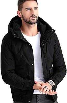 Chaqueta de algodón para hombres Ropa de invierno gruesa para hombre nueva Ropa de algodón corta para invierno Chaqueta de algodón para invierno Hombre guapo más diseño de sombrero de Dalian, frío