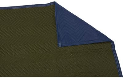 Strongway Burlap Moving Blanket 80in.L x 72in.W