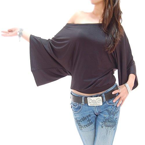 1db94a62fb5 Amazon.com: Black Off Shoulder Blouse: Clothing