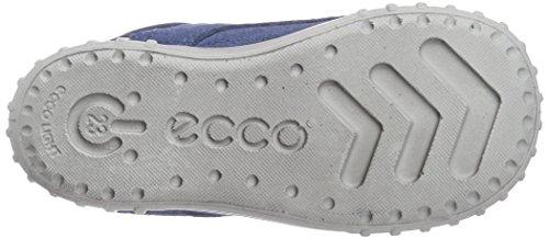 Ecco Mimic - zapatillas de running de piel bebé azul - Blau (RetroBlue Suede05471)