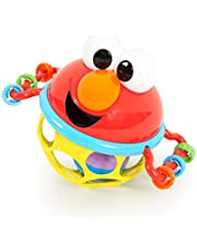 Bright Starts Sesame Street Jingle & Shake Elmo Easy Grasp Rattle