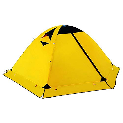 Camping Tent. 2 Person Family Pop Up Dome Canopy is Lightweight, Portable, Waterproof. Best Outdoor, Hiking, Backpacking, Beach, Fishing, Hunting, Travel, Trip Gear, Equipment