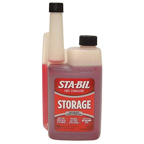 STA-BIL (22214) Storage Fuel Stabilizer – Guaranteed To Keep Fuel Fresh Fuel Up To Two Years – Effective In All Gasoline…