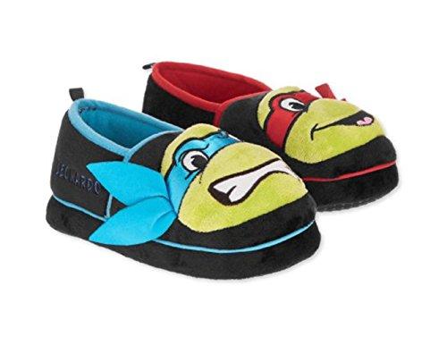 Teenage Mutant Ninja Turtles Shoes (Teenage Mutant Ninja Turtles TMNT Toddler Boy's Large 9-10 Slipper)