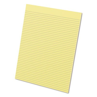 Ampad® - Evidence Glue Top Narrow Ruled Pads, Ltr, Canary, 50-Sheet Pads/Pack, Dozen - Sold As 1 Dozen - High-quality paper offers a smooth writing surface.