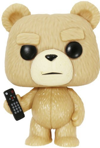 TED / TED2 (Ted / Ted 2) Ted with remote POP MOVIES VINYL mini Figure [parallel import goods]
