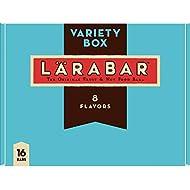Larabar Gluten Free Snack Bars Variety Box, Vegan, 8 Flavors, 1.7oz, 16ct