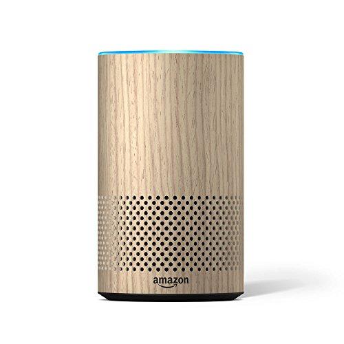 Echo Decorative Shell (fits Echo 2nd Generation only) – Oak Finish