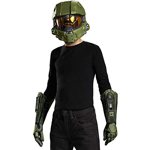 Halo Master Chief big Boys Costume Accessory Set (Halo Master Chief Kids Costume)