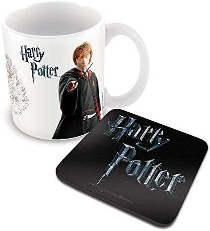 Harry Potter (Ron Weasley logo) Taza y posavasos: Amazon.es ...