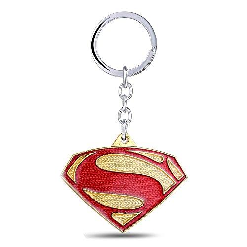 [2016 FASHION Avengers Super Heros Superman vs Batman Metal Keychain Pendant Key Chain Chaveiro Key] (Banana Gorilla Costume)