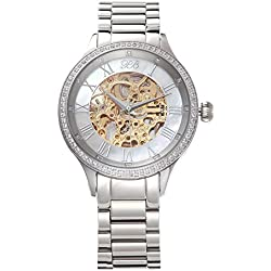Valentine's Day present Princess Butterfly Men's Watches Classic Automatic Mechanical Watch HL587MB