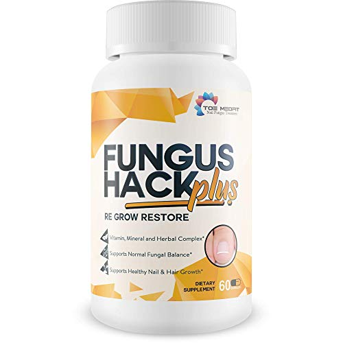 - Fungus Hack Plus Re Grow Restore - Toenail Fungus Treatment - Restore Healthy Nail, Skin, and Hair Growth - Help Your Nail Renew and Restore with This Nail Renewal biotin Supplement Nail Growth Pills