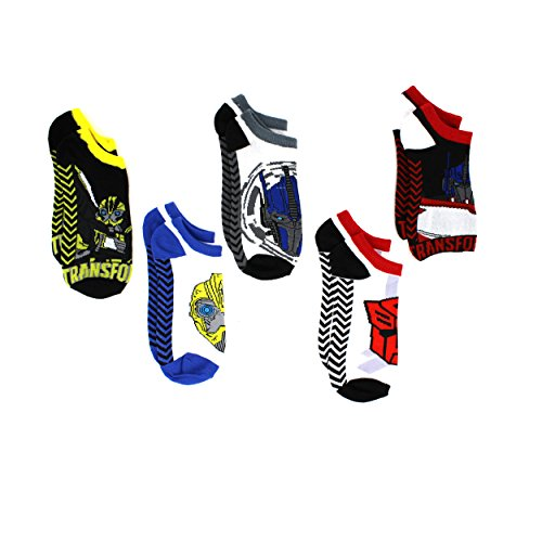 Bumblebee Shoes - Transformers Teen Adult 5 Pack Ankle