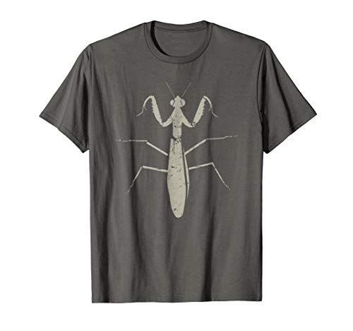 Distressed Bug & Insect Praying Mantis T-Shirt ()