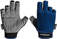 BASSDASH Astro Heavy-Duty Sure Grip Fishing Cycling Gloves Men's Women's Fingerless Gloves for Game Fishing Ka