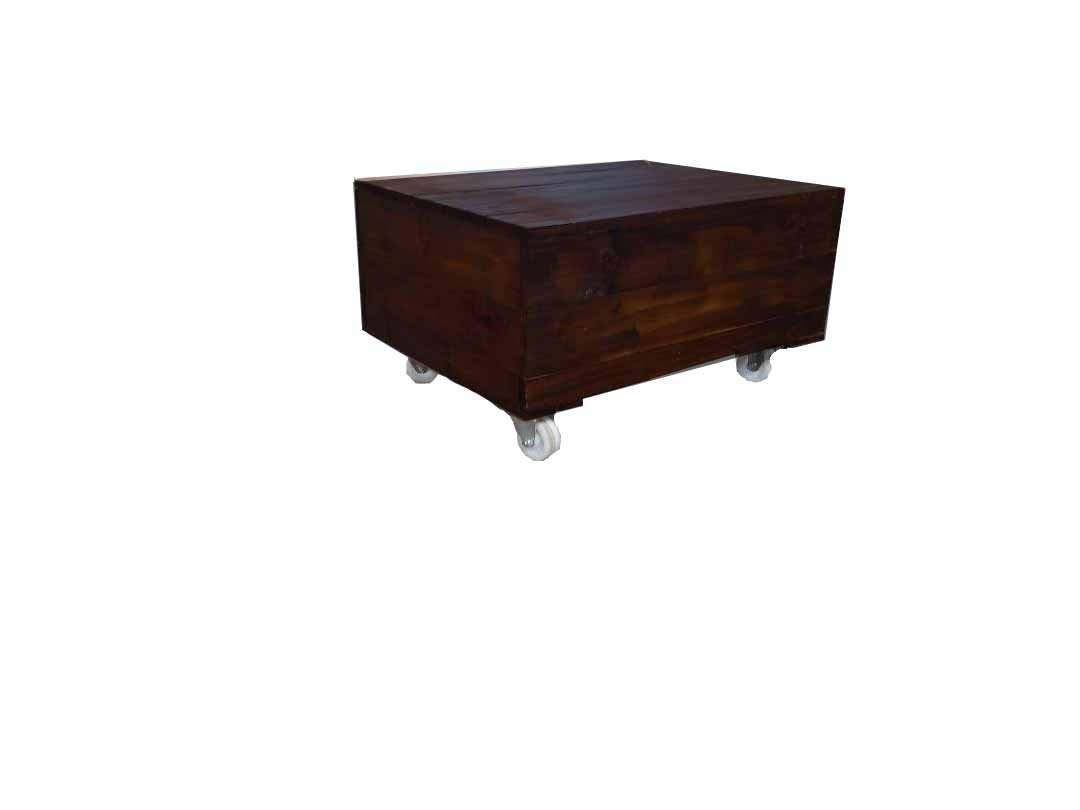 Urbanmantra Contemporary Coffee Table With Wheels 36 L X 24 W