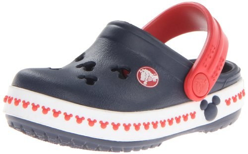 crocs 14609 CB Mickey 3 Clog (Toddler/Little Kid),Navy/Red,12 M US Little Kid by Crocs