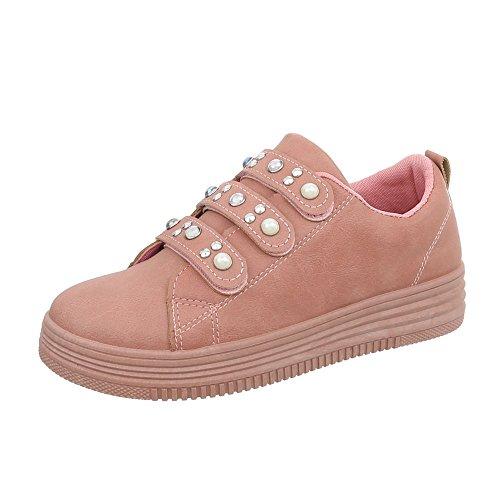 Zapatos Mujer Ital Fbk 108 Zapatillas Altrosa Design Para Plano Bajas Zapatillas 5qpHpTg