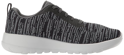 Go Gris Joy Walk Femme black Skechers charcoal rapture Baskets pzqSzO1