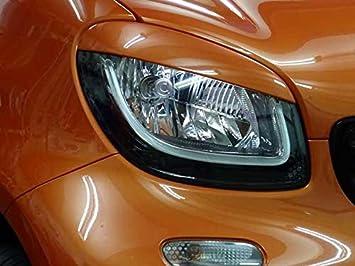 Embellecedores para faros de coche de color naranja: Amazon.es: Coche y moto
