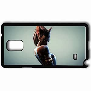 Personalized Samsung Note 4 Cell phone Case/Cover Skin Archeage Black