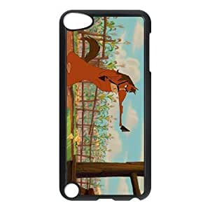 iPod Touch 5 Phone Case BLack Home on the Range Buck NF4150221