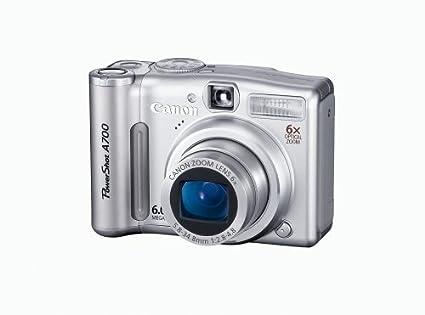 amazon com canon powershot a700 6mp digital camera with 6x optical rh amazon com Canon PowerShot Manual PDF Canon PowerShot G2 User Manual