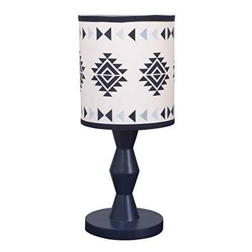 Carter's Carter's - Be Brave - Lamp & Shade, Navy, Light Blue, White (Boy Baby Shade Lamp)