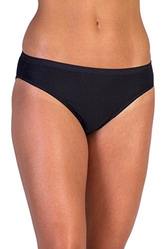 ExOfficio Women's Give-N-Go Bikini Brief - XX-Large - Black