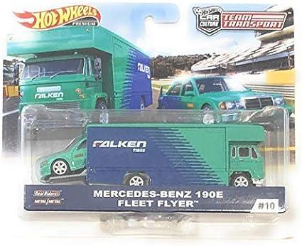 Hot Wheels Team Transport Fleet Flyer Mattel FLF60