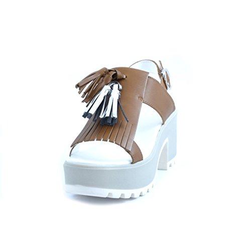 Cult - Sandalias de vestir de Piel para mujer marrón marrón