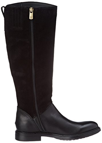 Women's Ankle 18c Hilfiger H1285olly Black Riding Tommy Black Boots qwCHvI5dx