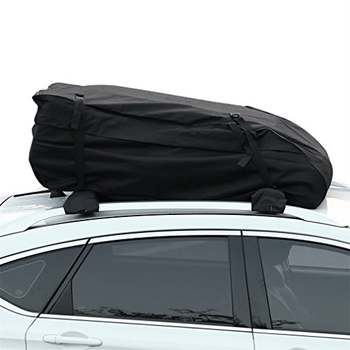 YKS Waterproof Roof Top Cargo BagCross Country Soft Car Carrier Best For Traveling 15