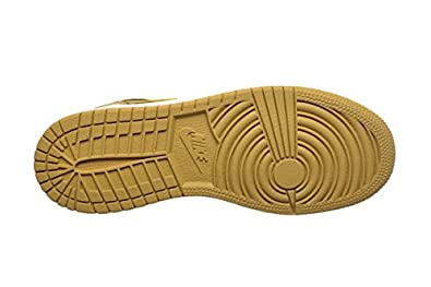 f61a7d35d0980 Jordan Air 1 Retro High BG Big Kids Shoes Black/Metallic Gold-White  705300-026