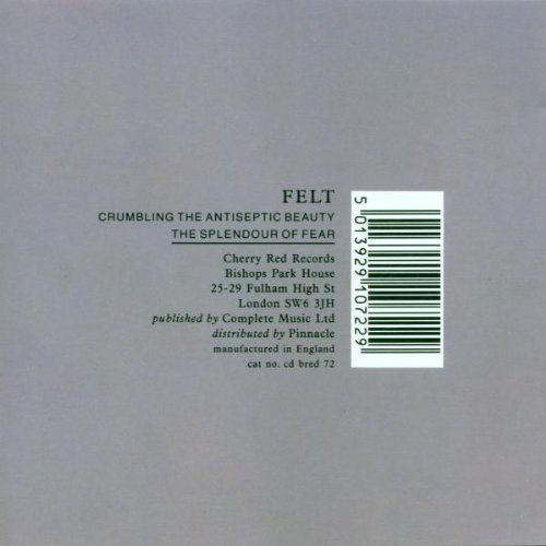 The Crumbling the Antiseptic Beauty/Splendour of Fear by Felt (1999-03-29)