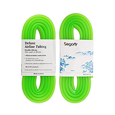Segarty Silicone Flexible Airline Tubing | Standard Fit for Aquariums Air Pump