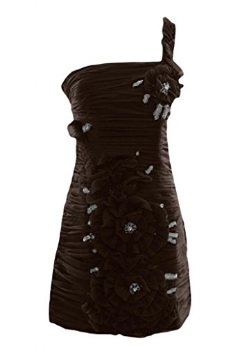 Prom Sunvary raso sera sirena abito Sweetheart Pageant Chocolate piano Dress elegante lunghezza da TTqCg