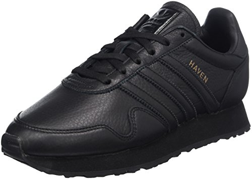 adidas Men's Haven Trainers Black (Negbas / Negbas / Cobsld 000) CNQmsf
